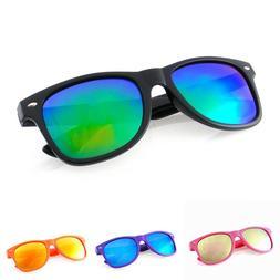 Sunglasses Retro Vintage Style Men Women Glasses Frame Color