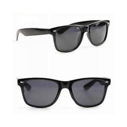 Sunglasses Vintage Retro Black Color New 80s Frame Optical N