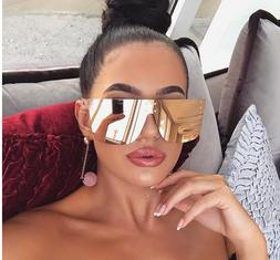 "Sunglasses XXL OVERSIZED ""over the hills "" Women Aviator Fla"