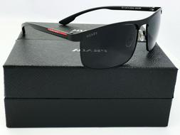 SunglassesSport Polarized22#Black Grey Gradient Fast Ship Ir