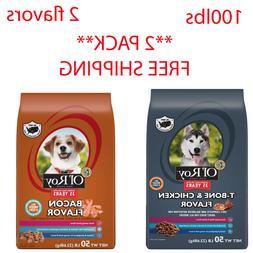Ol' Roy T-Bone and Chicken Flavor Dog Food, 50 Lbs