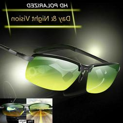 Tac HD+ Polarized Day Night Vision glasses Men Driving Pilot