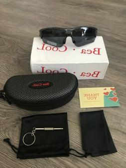 Tac Polarized sports sunglasses for Men Women Youth Baseball