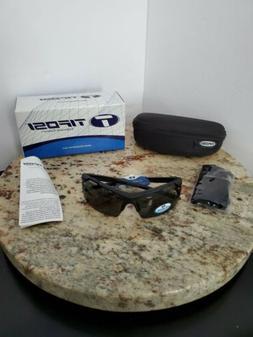 Tifosi Tempt Polarized Sunglasses in Matte Black Free Shippi
