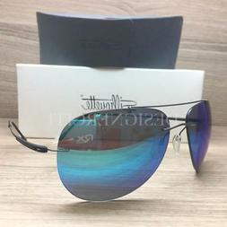 Silhouette Titan Adventurer 8667 60 6248 Sunglasses Silky Ma
