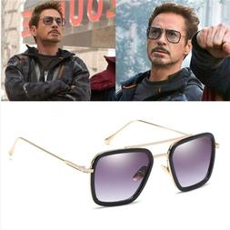 tony stark flight 006 style sunglasses men