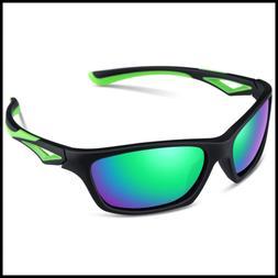 TPEE Unbreakable Polarized Kids Sports Sunglasses W Adjustab