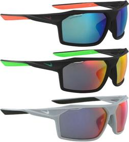 Nike Traverse Men's Matte Sport Sunglasses w/ Mirror Lens -