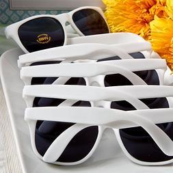Trendy White Sunglasses in Bulk - Set of 36