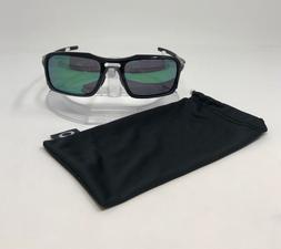 Oakley Triggerman Sunglasses   Polished Black/Jade Iridium P