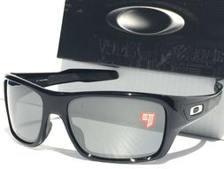 New Oakley TURBINE Sunglasses | 9263-41 Polished Black / Pri