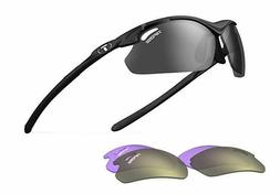 Tifosi Tyrant 2.0 Golf Interchangeable Sunglasses - Matte Bl