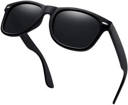 Joopin Unisex Polarized Sunglasses Classic Men Retro UV400 B