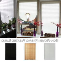 US Pleated Blind Office Kitchen Balcony Door Window Curtain