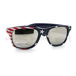 USA Flag Sunglasses Red White and Blue Star Spangled Banner