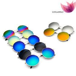 Vintage Retro Unisex Steampunk Sunglasses Mirror UV400 Lens