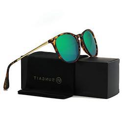 Vintage Round Sunglasses for Women Classic Retro Designer Gr