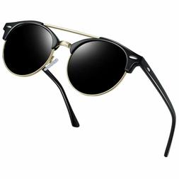vintage round sunglasses for women retro brand