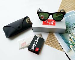 Ray-Ban Original Wayfarer Sunglasses, Tortoise Crystal Brown