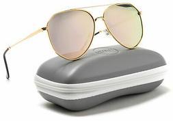 WearMe Pro - Retro Vintage Inspired Metal Aviator Sunglasses