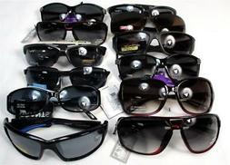 Wholesale Lot of 12 Sunglasses UV Eye Protection Women Men S