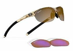Tifosi Womens Wisp T-I905 Dual lens Sunglasses,Crystal Brown