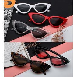 Women Cat Eye Sunglasses Retro Classic Designer Vintage Fash