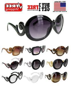 Women Ladies Designer Inspired Round Square Frame Sunglasses