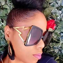Women Oversized Square Sunglasses 2020 Fashion Outdoor Shade