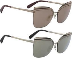 Salvatore Ferragamo Women's Semi-Rimless Cat-Eye Sunglasses