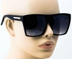 "Women Sunglasses XXL OVERSIZED ""Lauren"" Aviator Flat Top Squ"
