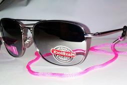 Foster Grant Womens Chrome Mirrored Aviator Sunglasses with