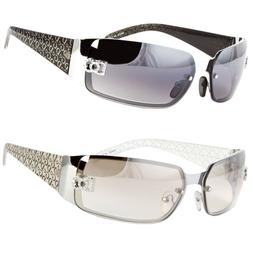 Womens Rimless Fashion Designer Sunglasses Shades Rectangula