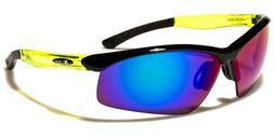 XLoop Wrap Semi Rimless Sport Sunglasses UV400 Volleyball Cy