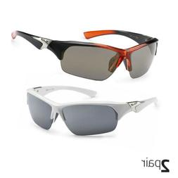 X Loop Sport Half Frame Sunglasses For Men And Women Wrap Ar