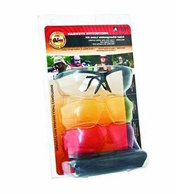 Howard Leight XC Glasses Black Frame 3 Lenses 1637