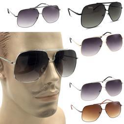 XL Big Head Extra Wide Sunglasses Pilot Square 148mm Frame L
