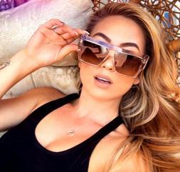 "XL "" THE BOLD"" RECTANGULAR OVERSIZED Women Sunglasses Aviato"
