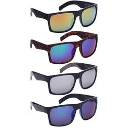 XXL Extra Large Retro Square Wide Frame Sunglasses For Men W