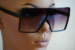 XXL HUGE OVERSIZED BETTY Women Sunglasses Aviator Flat Top S