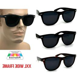 XXL Polarized Mens Extra Large Sunglasses for Big Fat Wide H