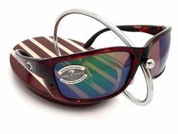 Costa Del Mar Zane Sunglasses, Tortoise, Green Mirror 580G L